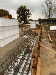 Hurstpierpoint College steel reinforcements