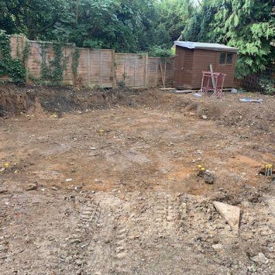 Reinforced concrete - foundation