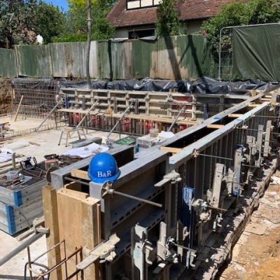 Thames Ditton Steel Fixing 1